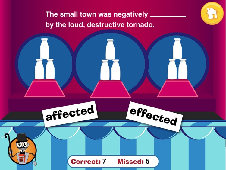 Carnival Grammar: Affect and Effect screenshot-3