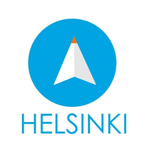 ヘルシンキ(フィンランド)旅行者のためのガイドアプリ 距離と方向ナビのPilot(パイロット)