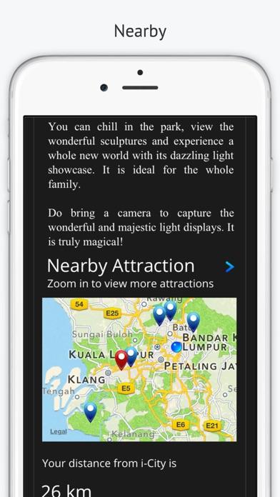 Malaysia Trip Planner screenshot three