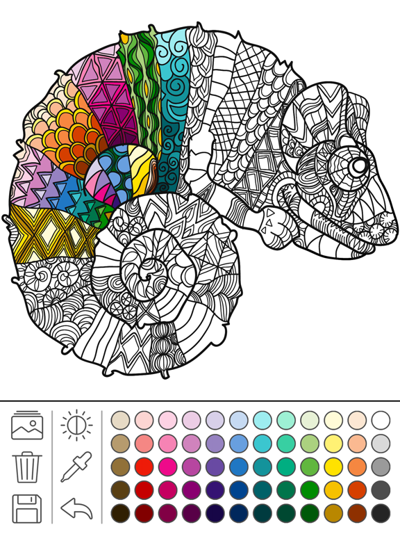 Mindfulness coloring - Anti-stress art therapy for adults (Book 5) | App  Price Drops