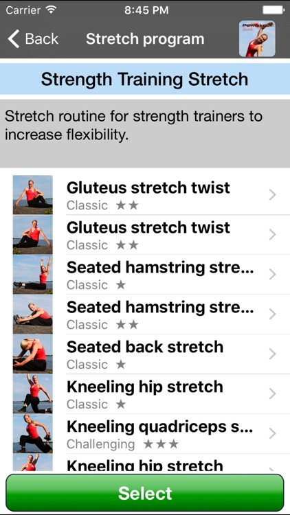 Stretch by Poworkout screenshot-2