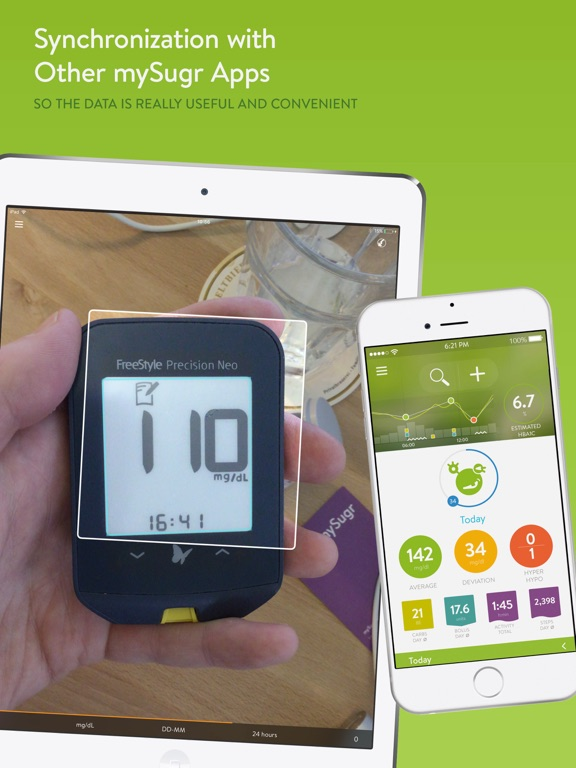 Screenshot #6 pour mySugr Scanner