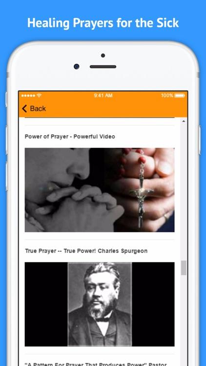 The Power of Prayer - Healing Prayers for the Sick screenshot-4