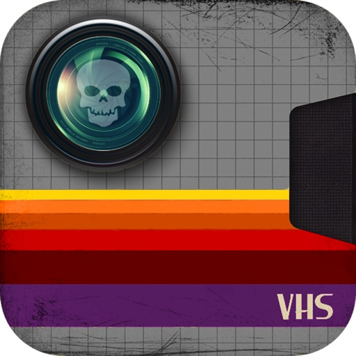 Haunted VHS - Retro Paranormal Ghost Camcorder application logo
