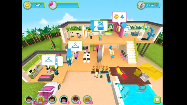 La maison moderne PLAYMOBIL dans l\'App Store