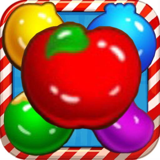 fruit pop classic free game HD iOS App