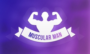 Muscular Man - Workout Exercises