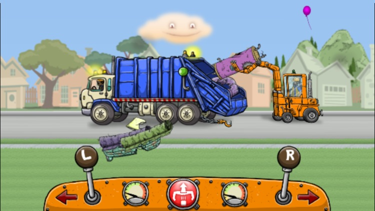 Garbage Truck: Bulky Trash Pick Up
