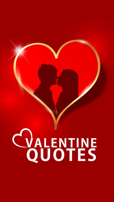 Valentine Quotes -Romantic ideas & sms screenshot one