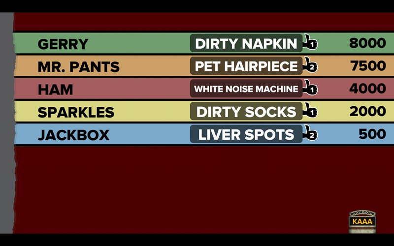 Fibbage XL screenshot 3