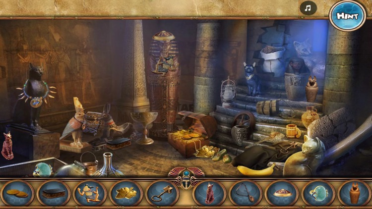 Wonders of Egypt - Hidden Objects Game