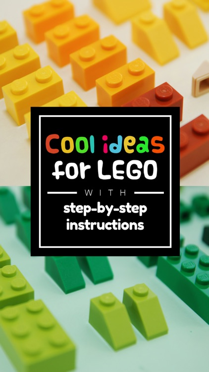 Cool Instructions for Lego - Beautiful step-by-step photo guides for building great models screenshot-0