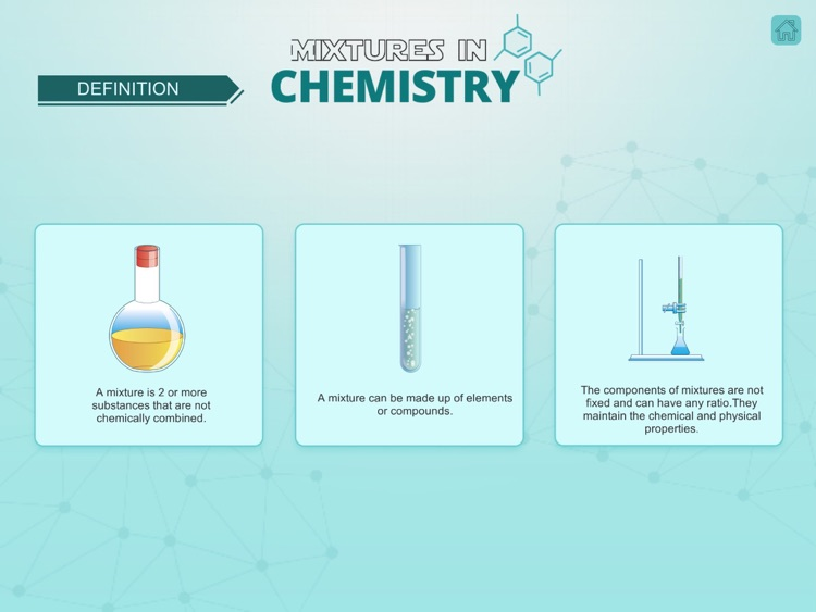 Mixtures in Chemistry screenshot-1