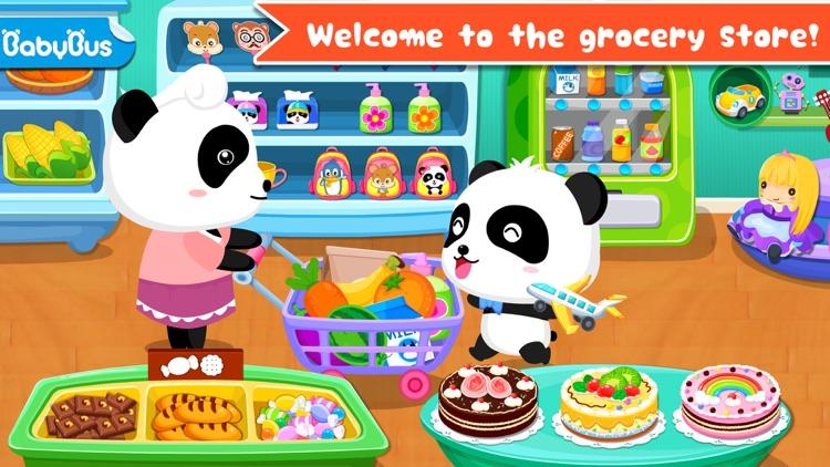Baby Panda's Supermarket - Grocery Store screenshot-0
