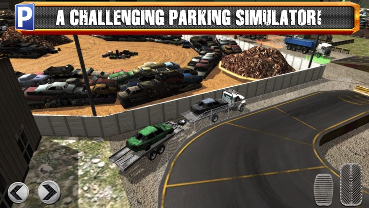 Junk Yard Trucker Parking Simulator a Real Monster Truck Extreme Car Driving Test Racing Sim screenshot-4