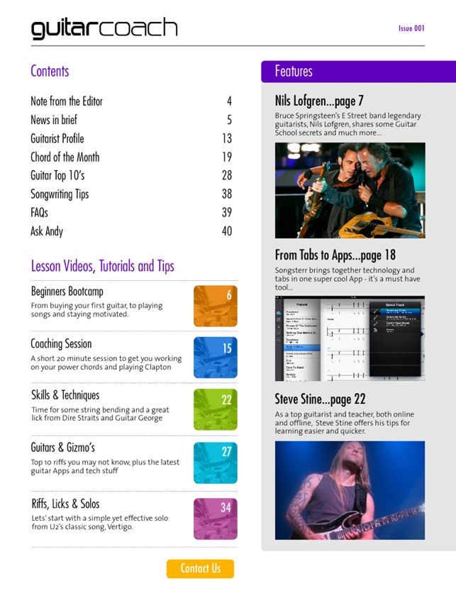 Guitar Coach Magazine  Learn & Play Guitar on the App Store