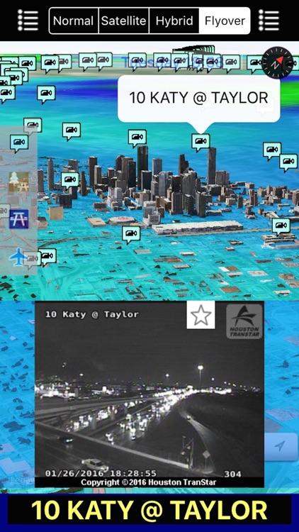 Texas NOAA Radar with Traffic Cameras 3D Pro screenshot-3