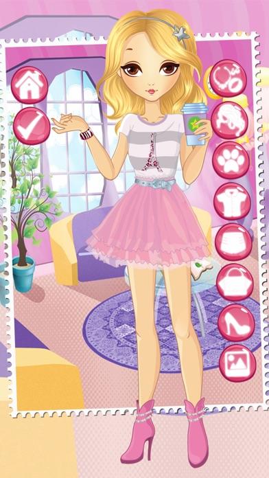 juegos de vestir para niñas y niños gratis - salón de belleza con
