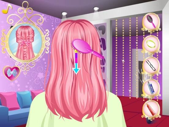 最美辫子发型师HD - 最热的头发编织风格的发型师游戏的女孩!