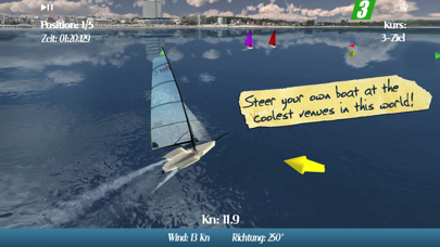 CleverSailing Mobile - Sailboat Racing Gameのおすすめ画像1