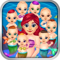 Codes for Mommy's Octuplets Newborn Babies - My Mermaid Baby Salon Doctor Game! Hack