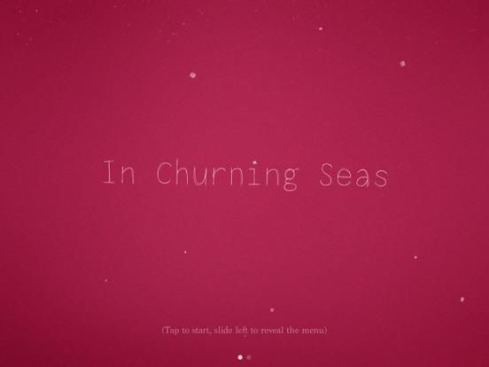 In Churning Seas
