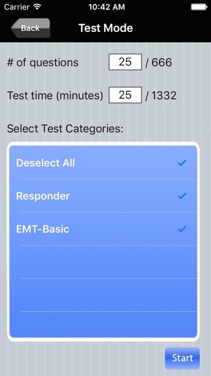 NREMT First Responder and EMT Basic Exam Prep Bundle screenshot-3
