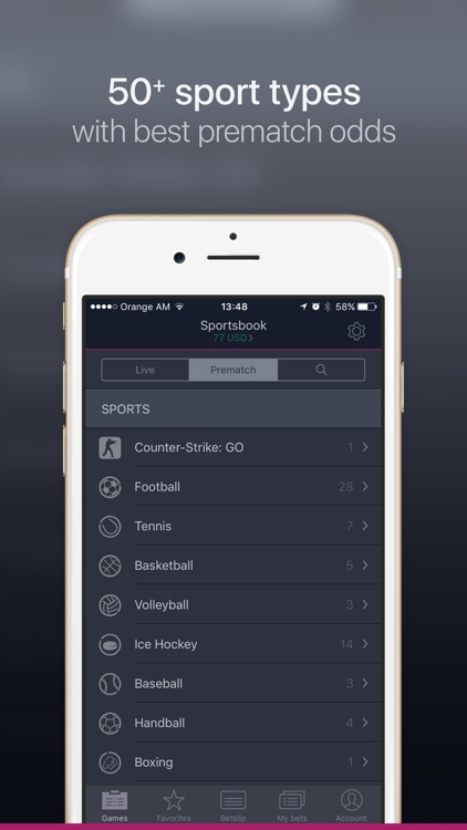 Sportsbook by Vbet