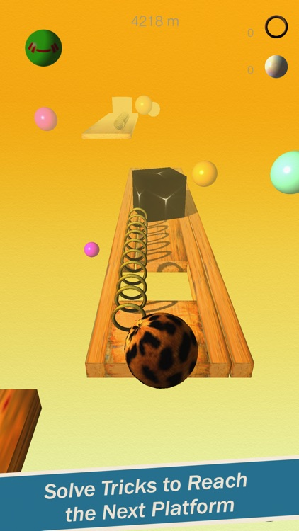 Beasty Ball Mania - A 3D Physics Based Endless Runner / Platformer Marble Rolling Dash