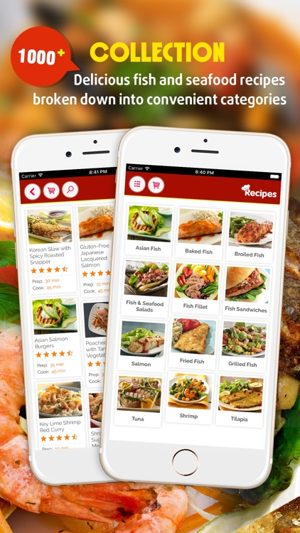 Fish and Seafood Recipes screenshot-0