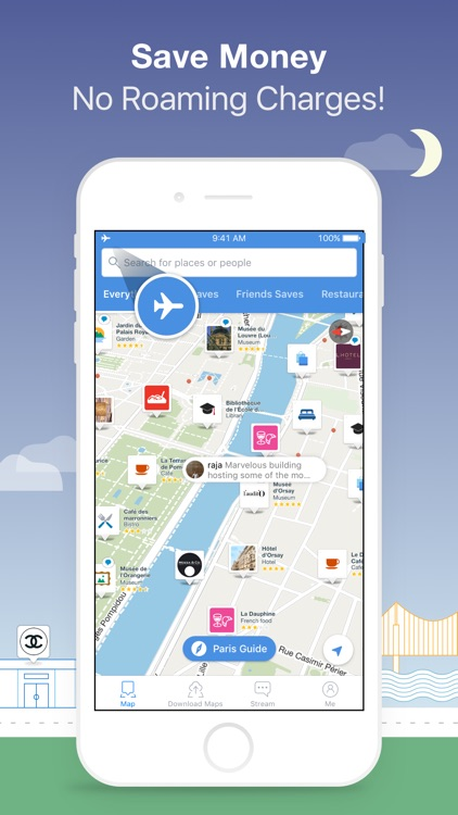 Citymaps: Offline Map and City Guides screenshot-4