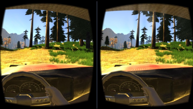 Off-Road Virtual Reality Game : VR Game For Google Cardboard screenshot-1