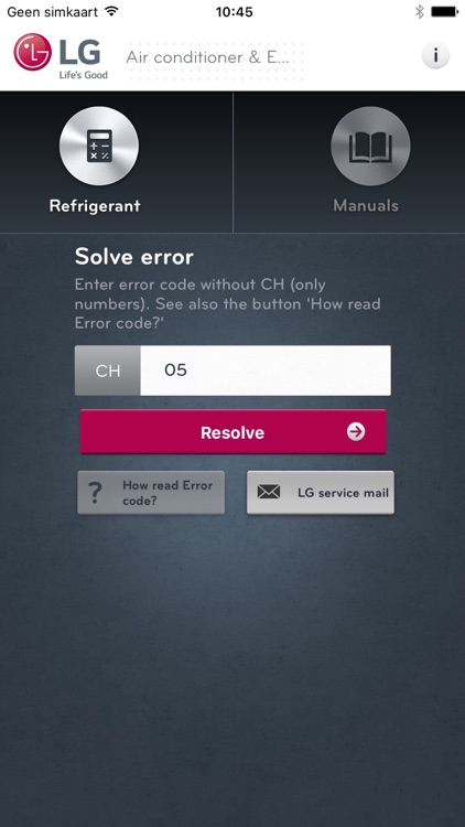 LG Service AE by LG Electronics Benelux
