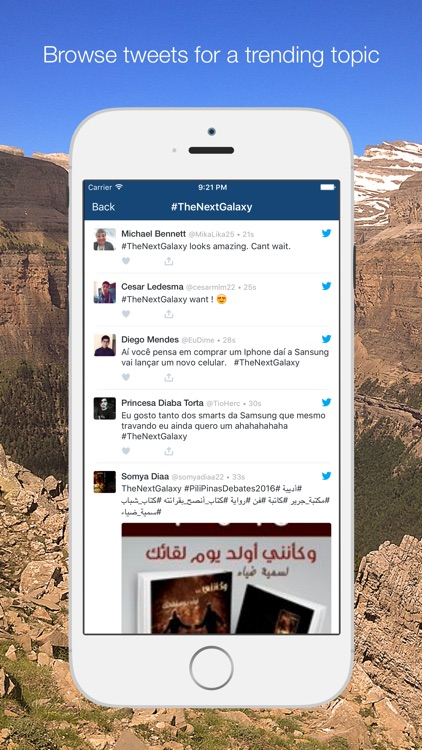 TrendMonitor for Twitter, monitoring trending topics from your iPhone screenshot-4