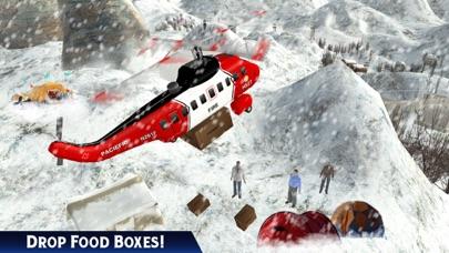 救急車ヘリコプターパイロットゲーム:フライトシミュレータのスクリーンショット1