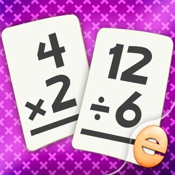 Vermenigvuldigen En Delen Wiskunde Flashkaart Match Spelletjes Voor Kinderen In De 2De En 3De Graad