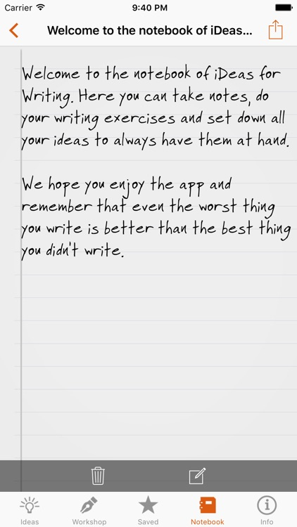 iDeas for Writing screenshot-4