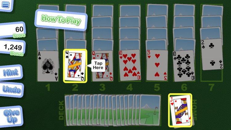Crystal Golf Solitaire screenshot-4