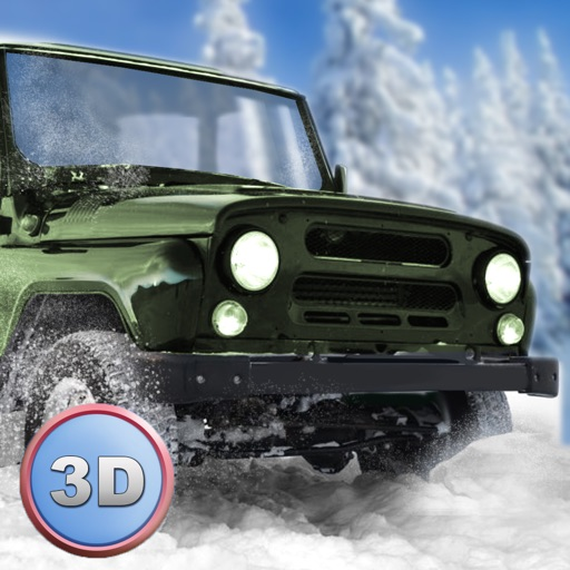 Winter Offroad UAZ Simulator 3D - Drive the Russian truck!