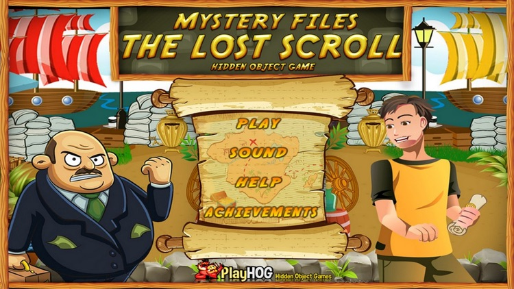 Lost Scroll Hidden Object Game