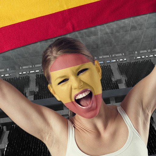 Football Fans Flag Face – Support Your Favorite National Team and Paint Faces