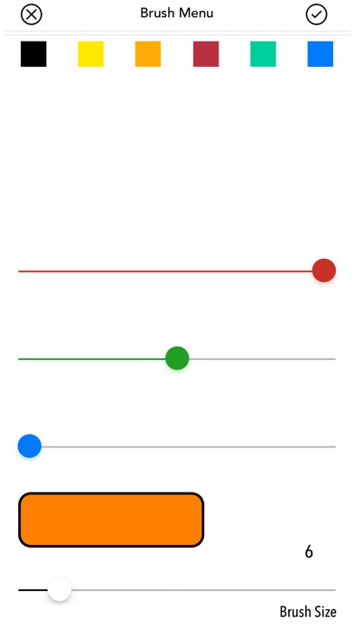 Drawtastic Screenshot on iOS