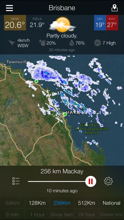 AUS Radar & Weather: WeatherAlert screenshot-0