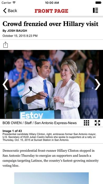 Sa Express News review screenshots