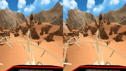 VR Roller Coaster for Google Cardboard screenshot