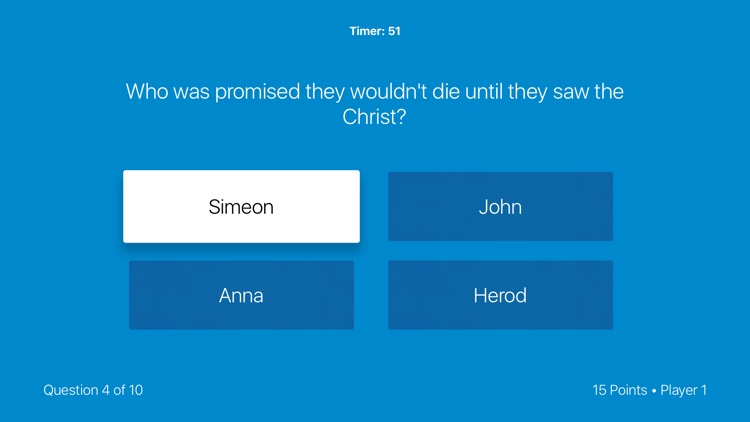Bible Trivia Game: TV Edition