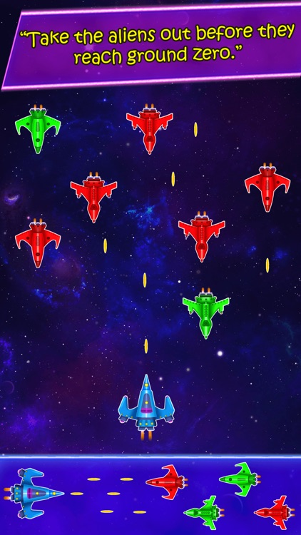 Extraterrestrial Incursion: Spaceship Galaxy Fighting Game screenshot-4