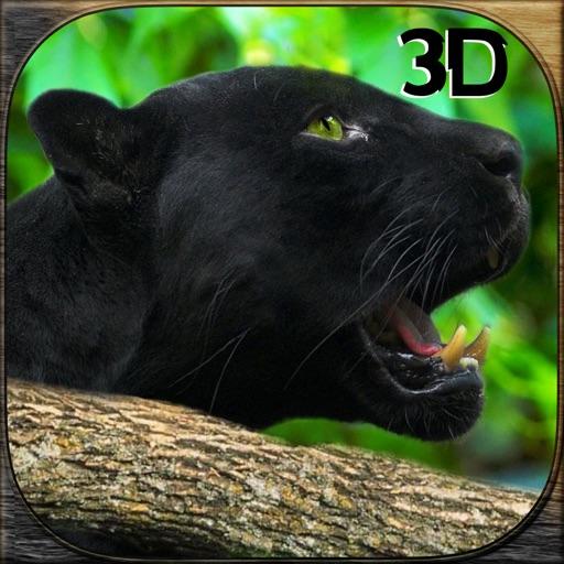 Дикий черный нападение пантеры симулятор 3D - охотиться на зебру, оленя & другое животное в дикой природы сафари