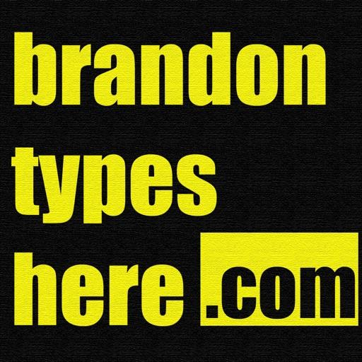 BrandonTypesHere.Com