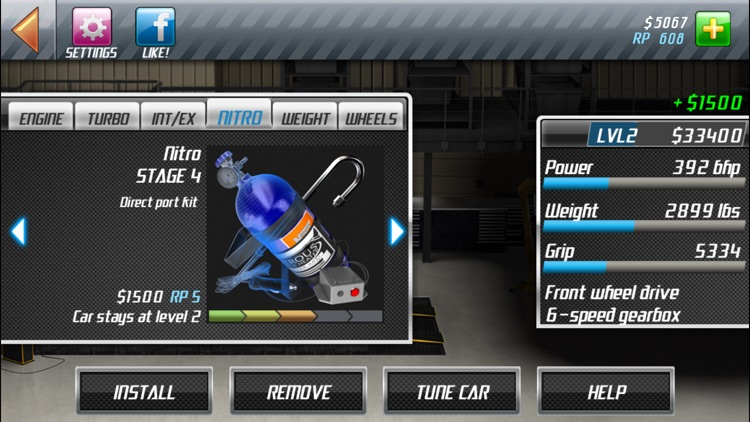 Drag Racing Classic screenshot-2